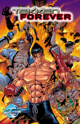 Tekken Forever 01 (2012) (Blue Water Comics)
