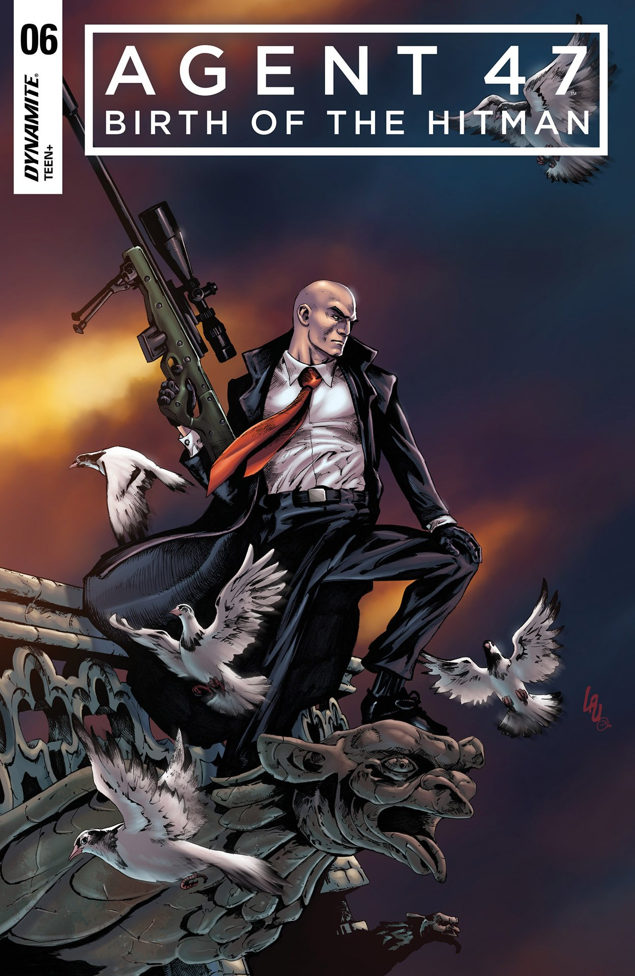Agent 47 - Birth Of The Hitman 006 (2018) (cover a)