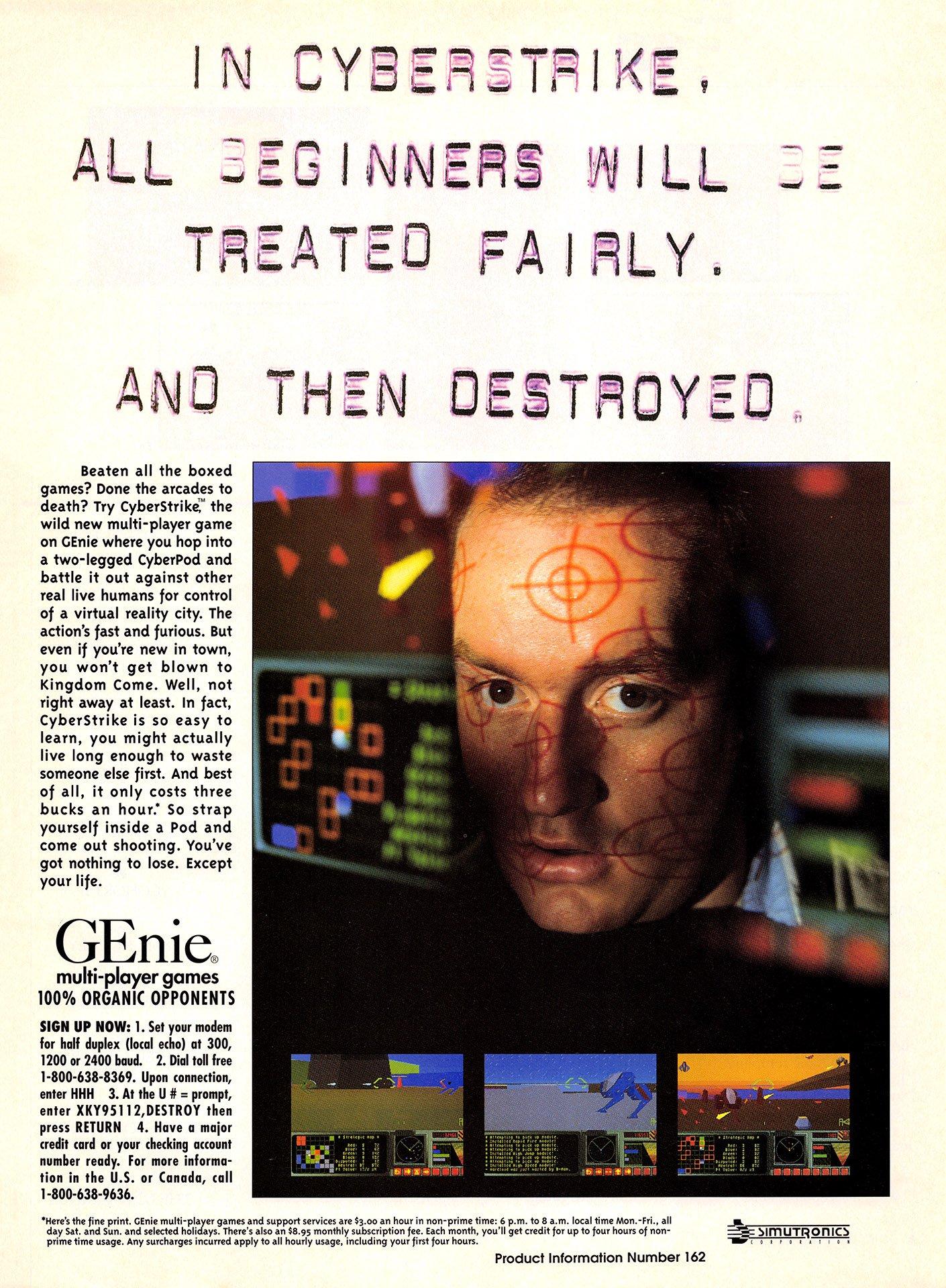 CyberStrike (for GEnie)