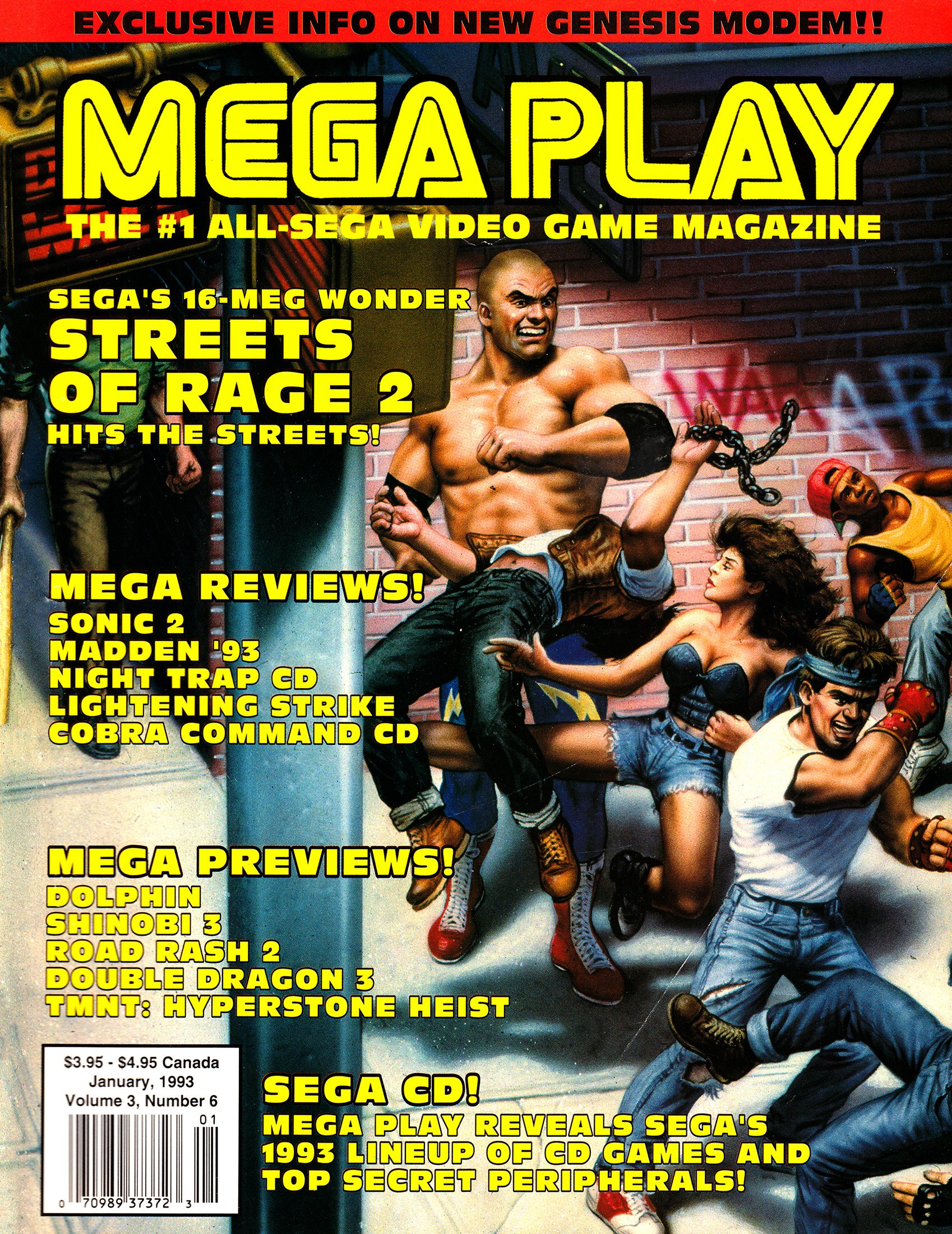 Mega Play Vol.3 No.6 January 1993