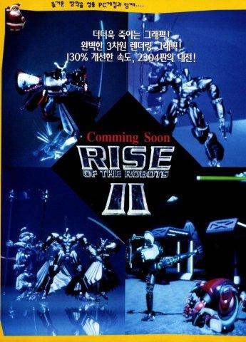Rise of the Robots II (Korea)