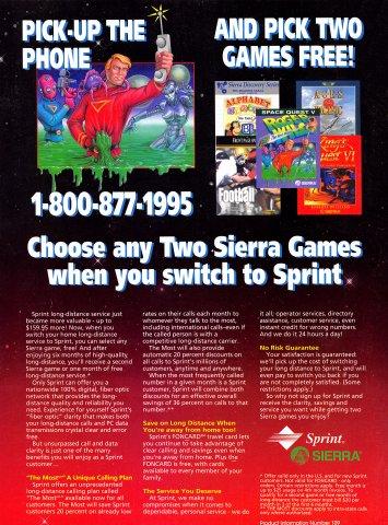 Sierra Sprint offer