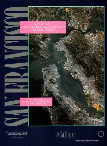 San Francisco: Scenery for Microsoft Flight Simulator v.5