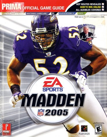 Madden NFL 2005 Official Game Guide
