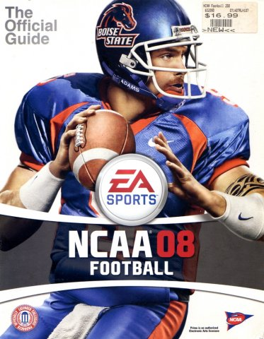 NCAA Football 08 Official Game Guide