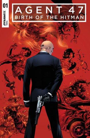 Agent 47 - Birth Of The Hitman 001 (2017) (cover b)
