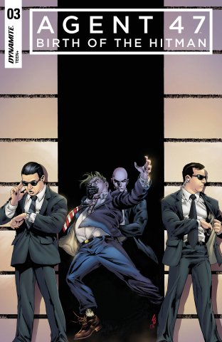Agent 47 - Birth Of The Hitman 003 (2018) (cover a)