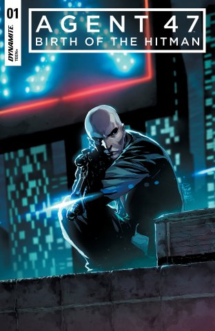 Agent 47 - Birth Of The Hitman 001 (2017) (cover a)