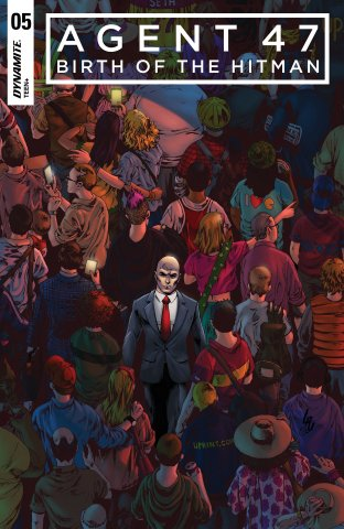 Agent 47 - Birth Of The Hitman 005 (2018) (cover a)