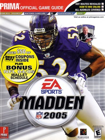 Madden NFL 2005 Official Game Guide (Best Buy Edition)