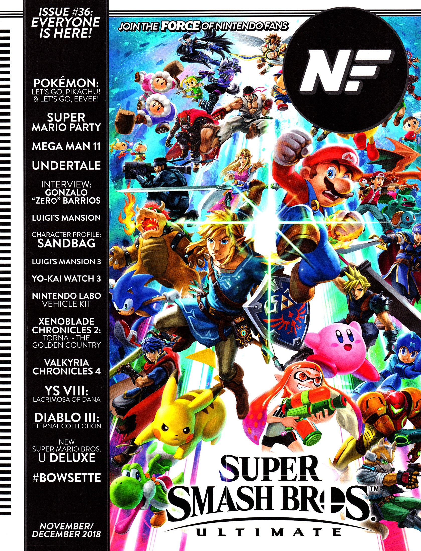 Nintendo Force Issue 036 November/December 2018
