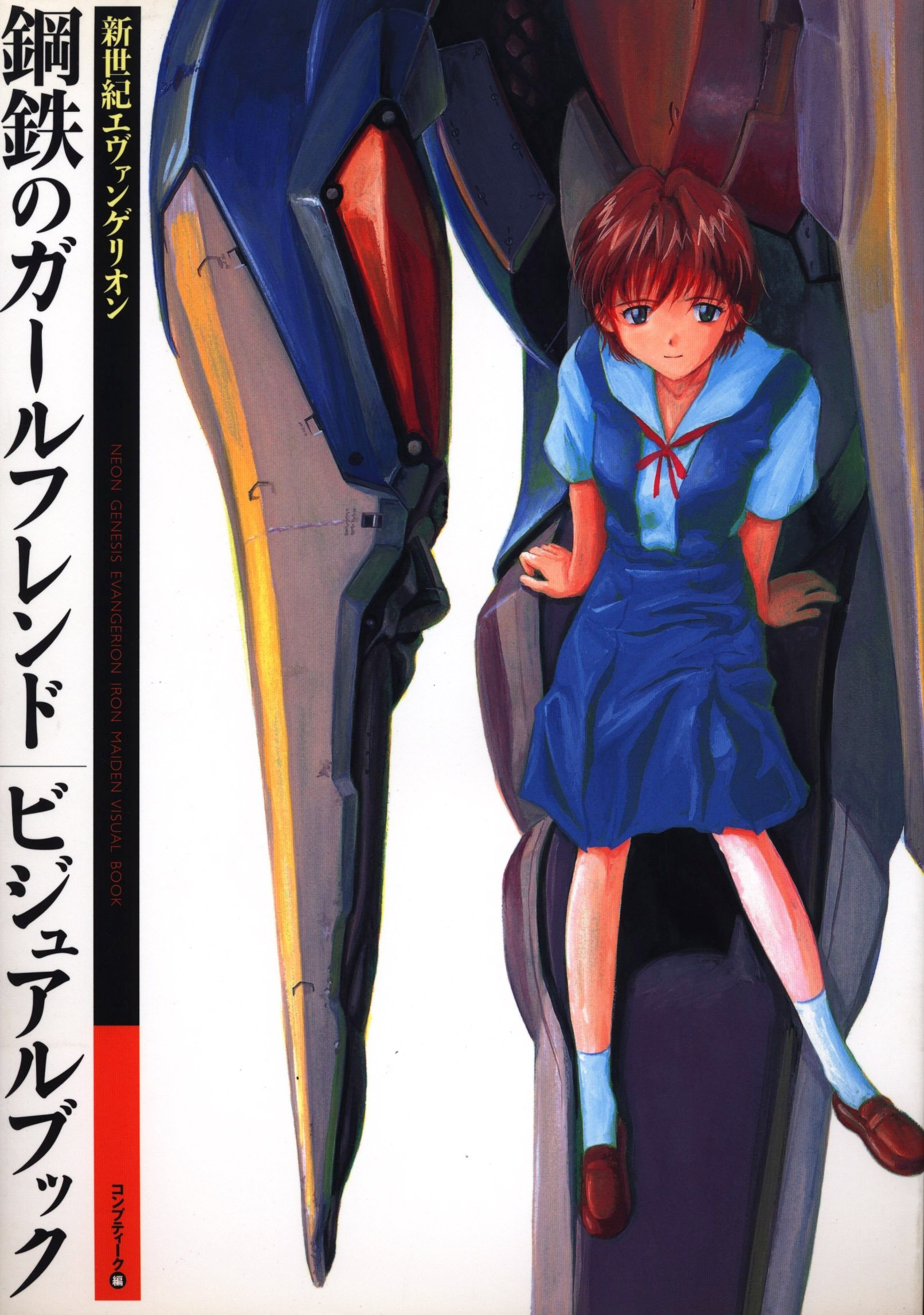 Neon Genesis Evangelion: Girlfriend of Steel - Visual Book