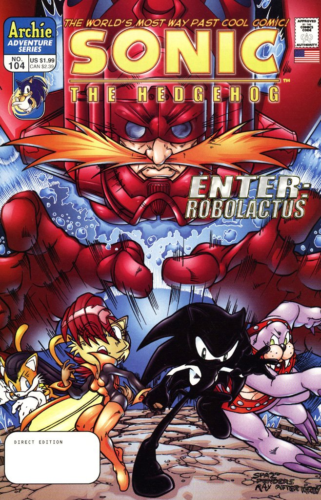 Sonic the Hedgehog 104 (February 2002)