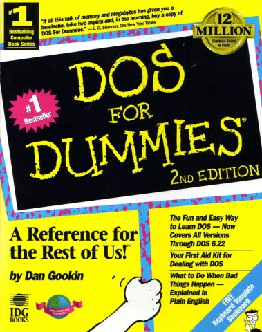 DOS For Dummies, 2nd Edition