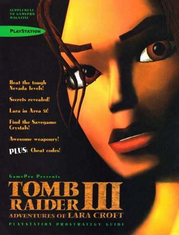 GamePro (March 1999) Tomb Raider II ProStrategy Guide