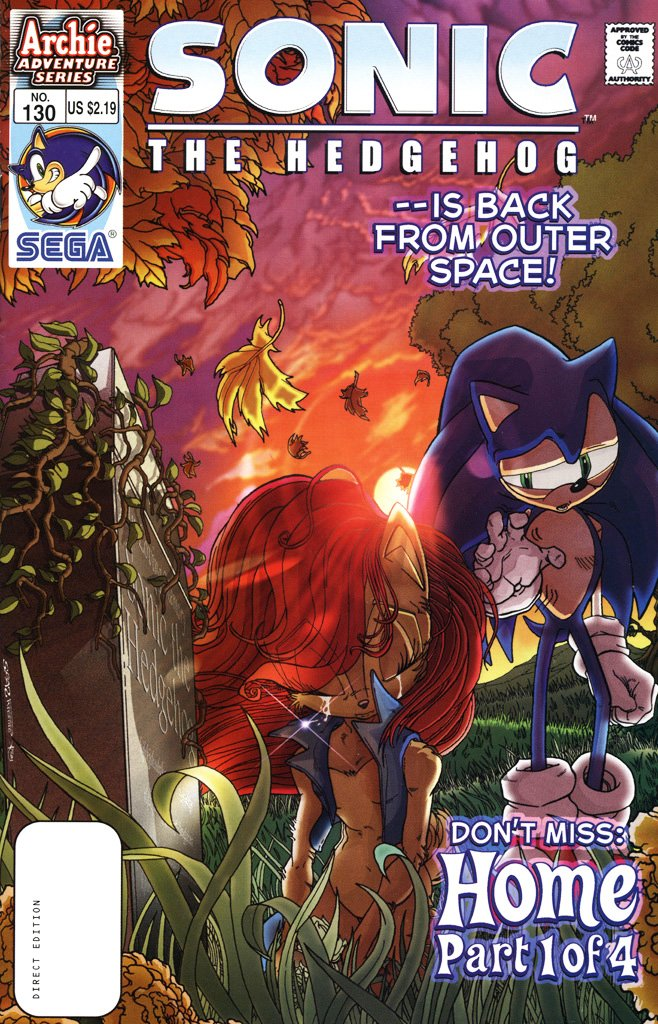Sonic the Hedgehog 130 (February 2004)