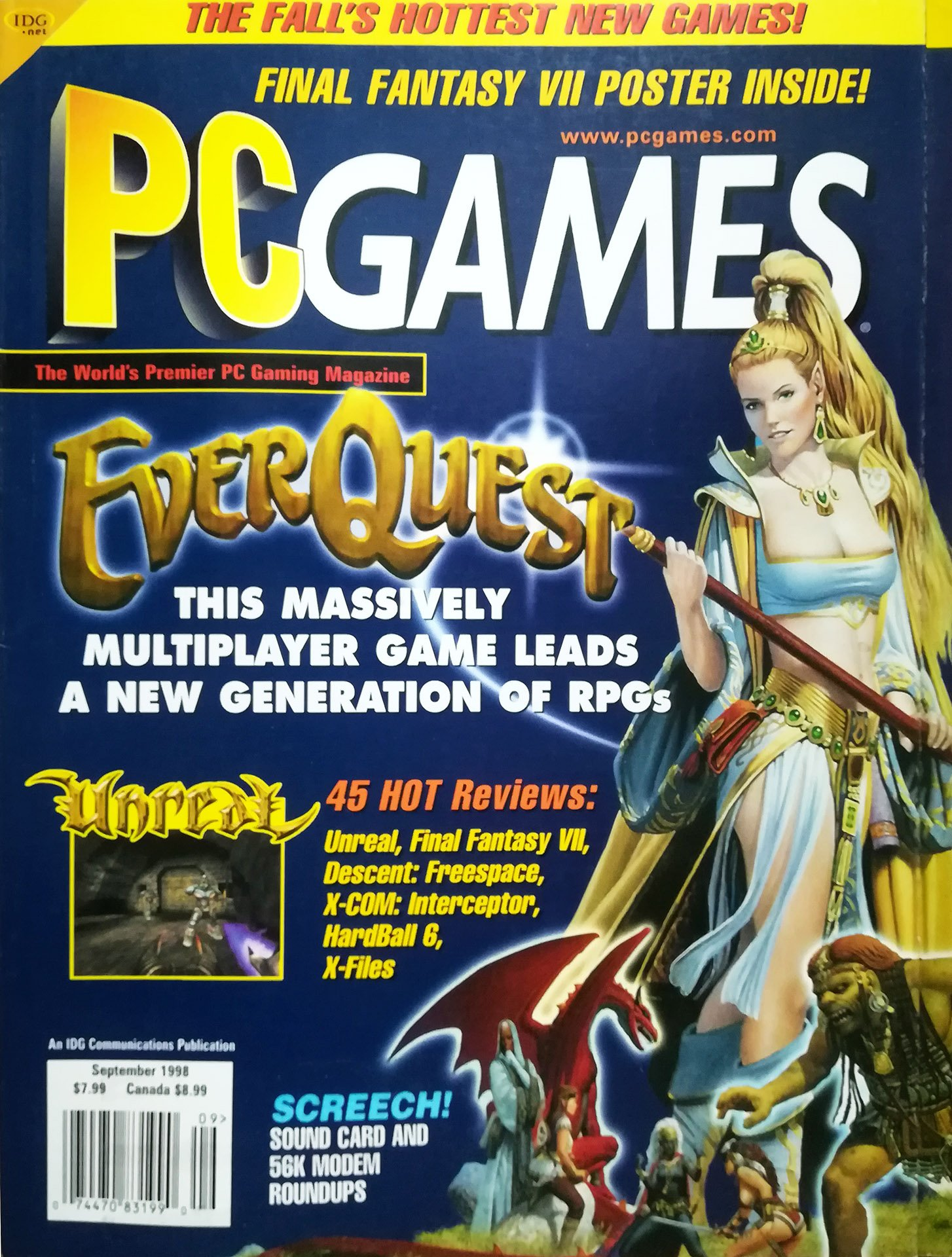 PC Games Vol. 05 No. 07 (September 1998)