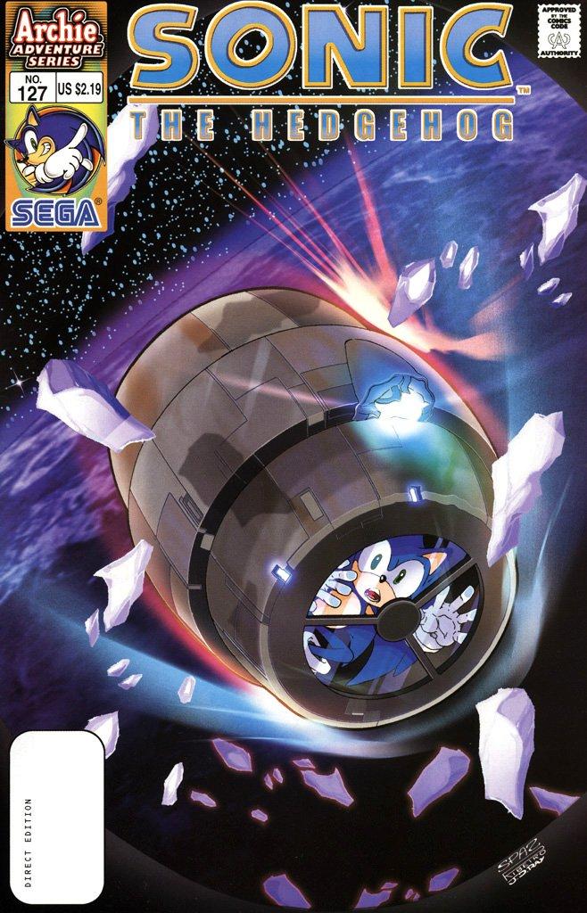 Sonic the Hedgehog 127 (November 2003)