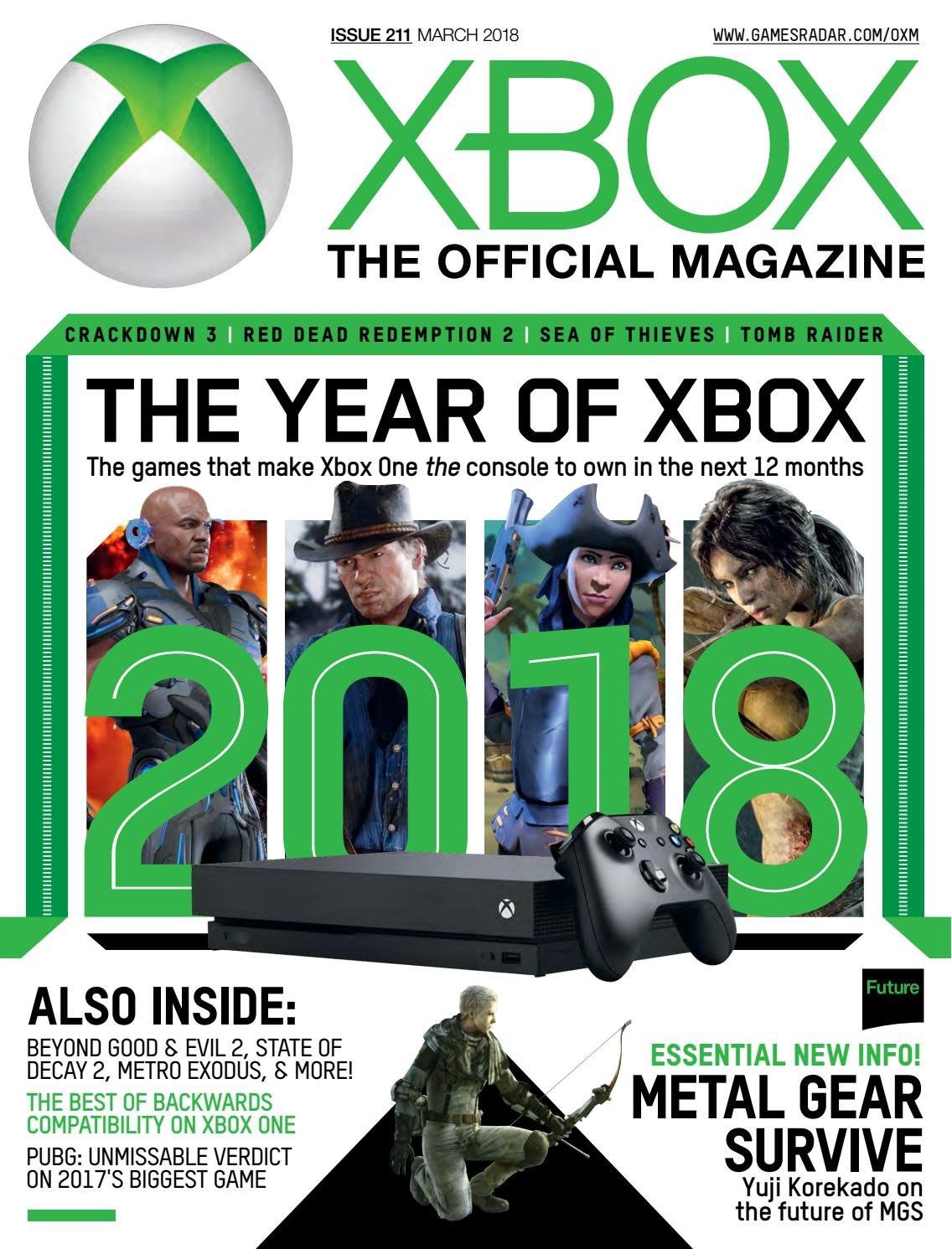 Official Xbox Magazine Issue 211 (March 2018)