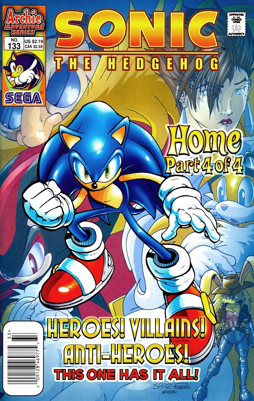 Sonic the Hedgehog 133 (April 2004)