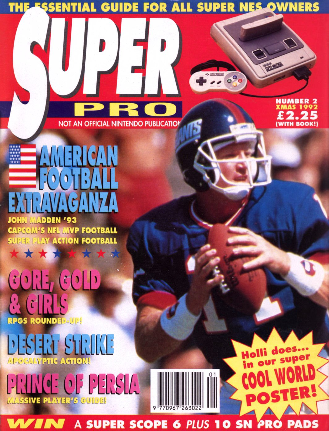 Super Pro Issue 02 (Xmas 1992)