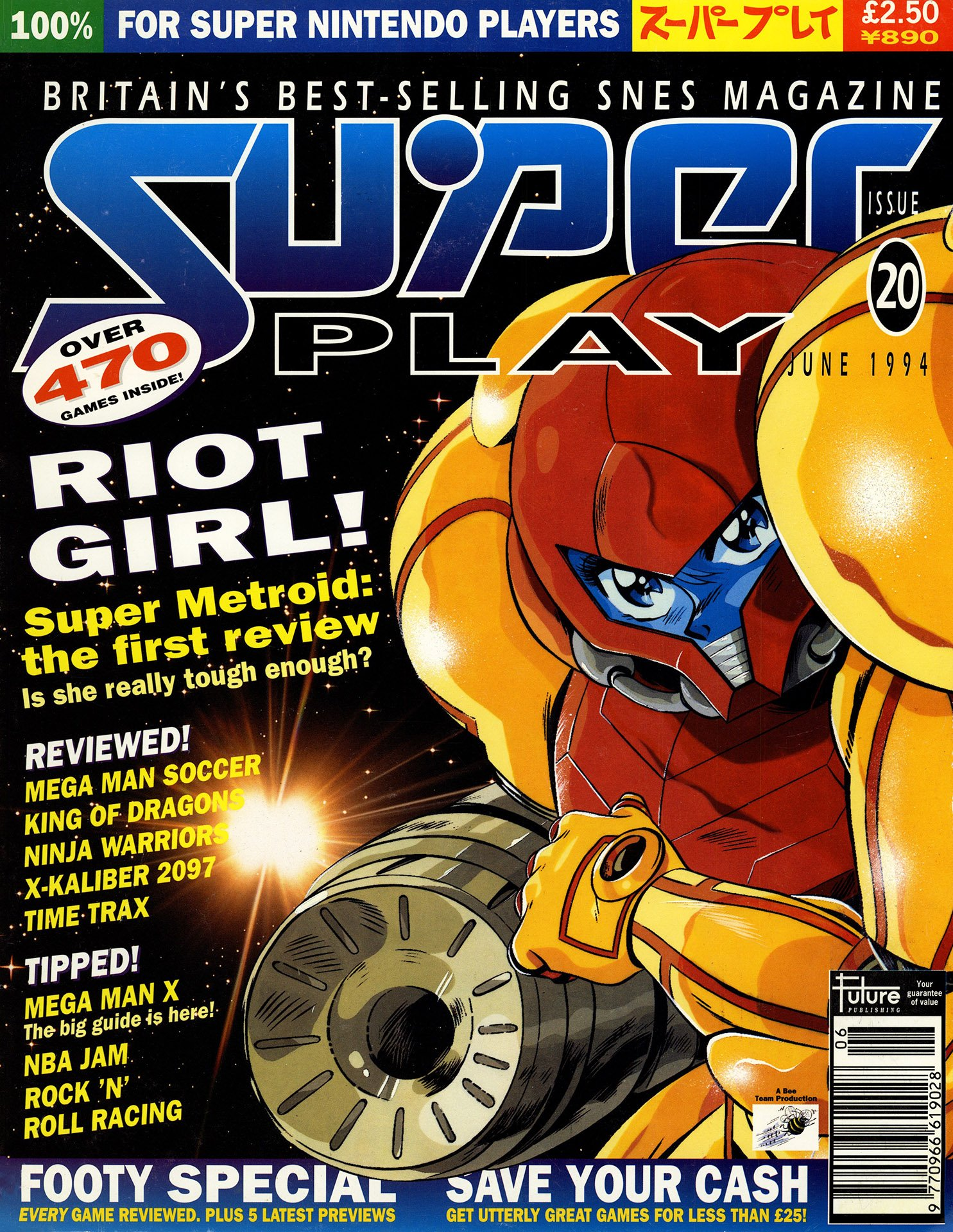 Super Play Issue 20 (June 1994)