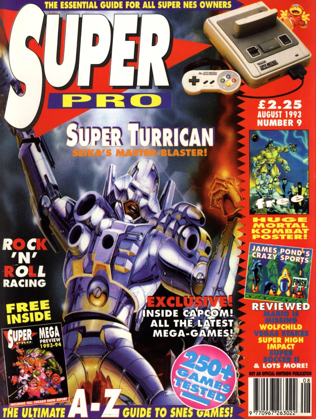 Super Pro Issue 09 (August 1993)