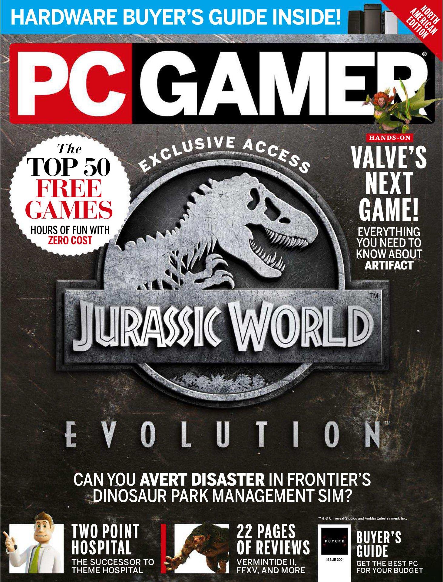 PC Gamer Issue 305 (June 2018)
