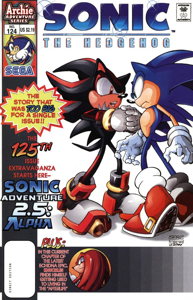 Sonic the Hedgehog 124 (August 2003)