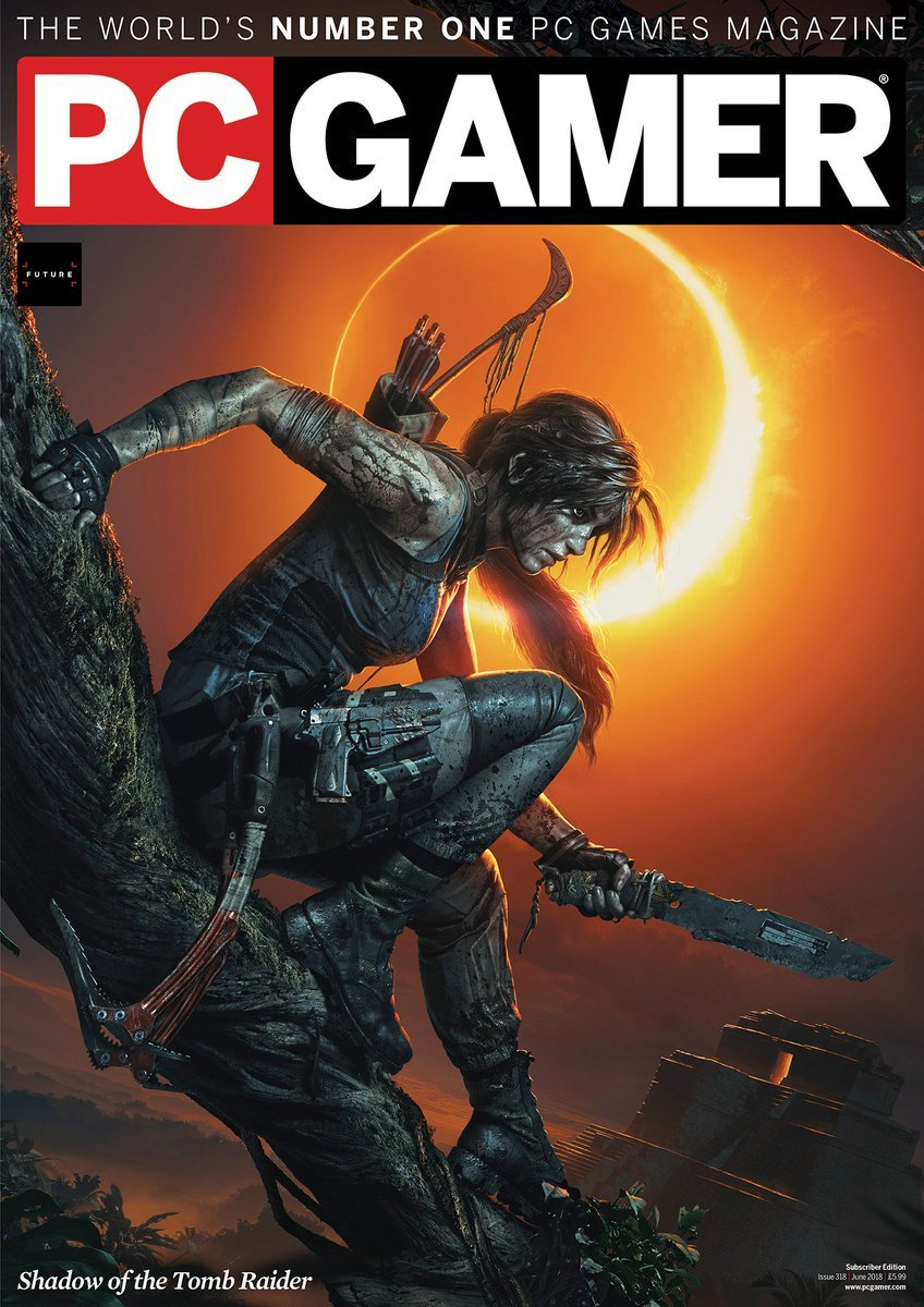 PC Gamer UK 318 (June 2018) (subscriber edition)