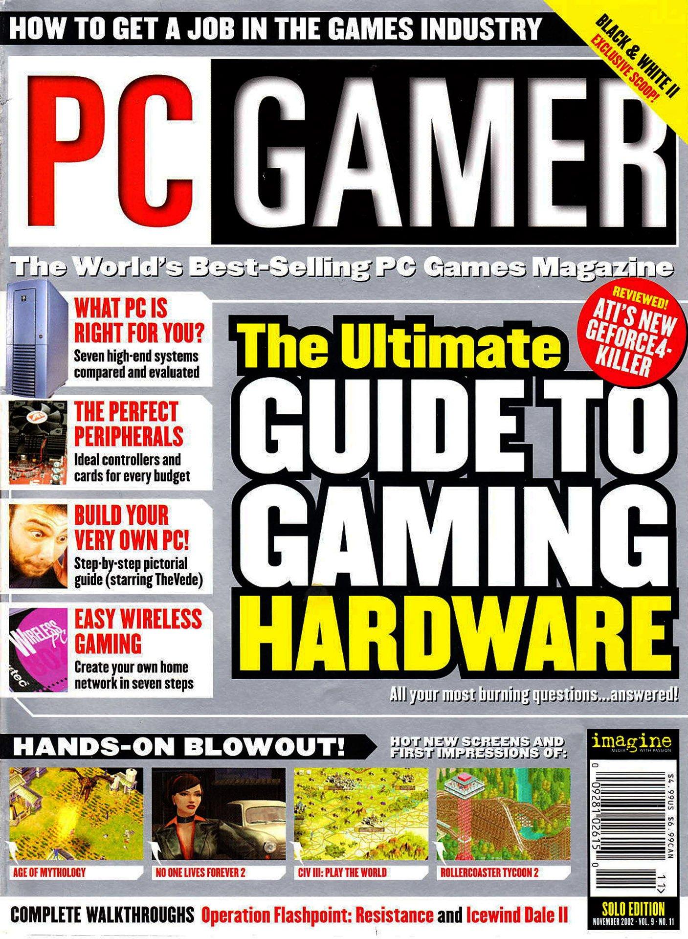 PC Gamer Issue 103 (November 2002)