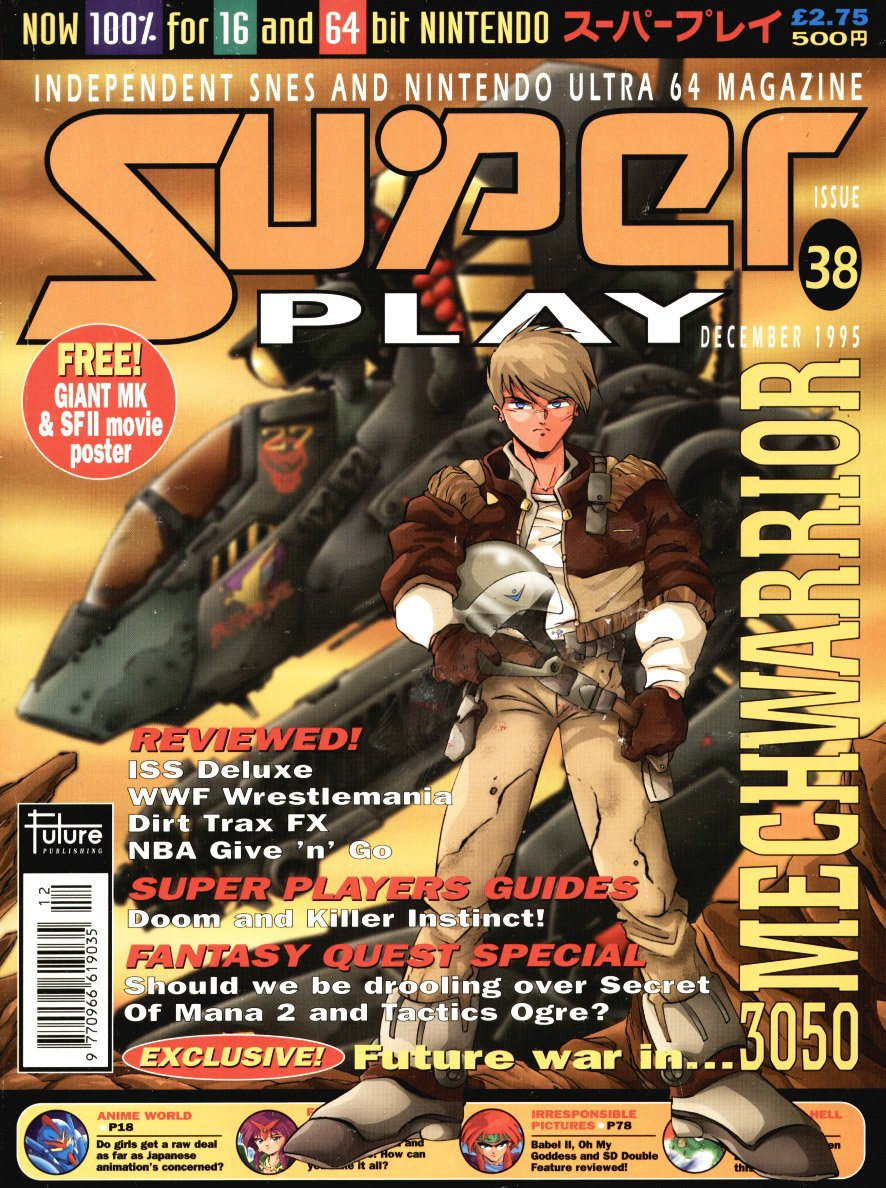 Super Play Issue 38 (December 1995)