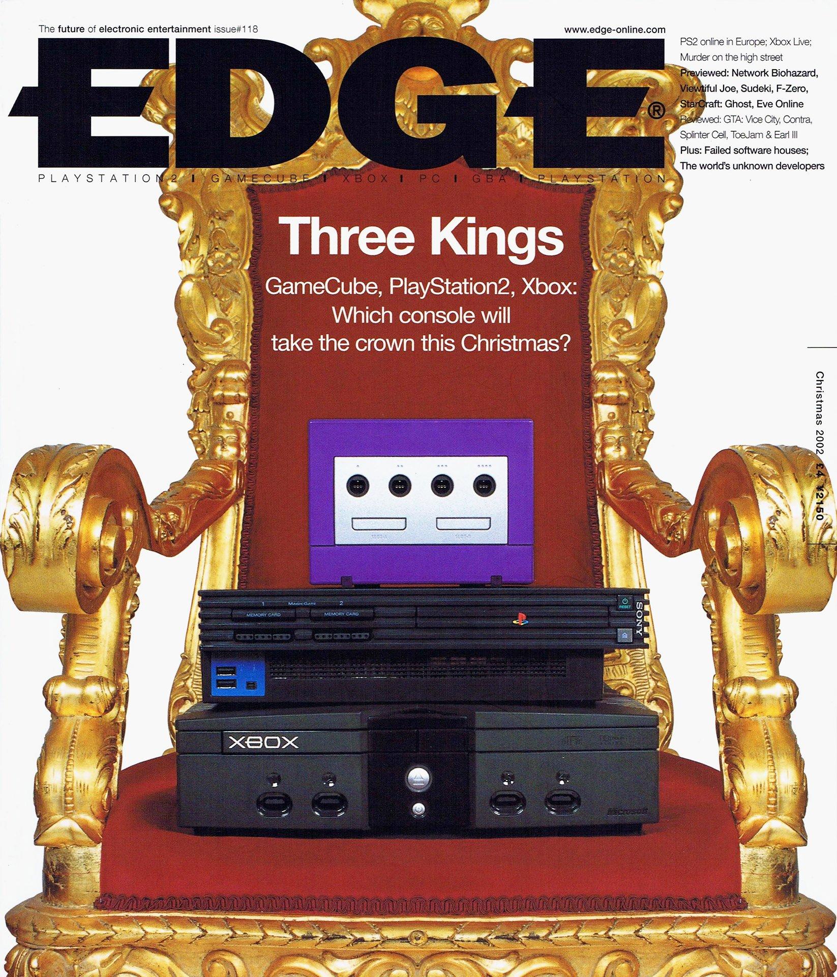 Edge 118 (Christmas 2002)
