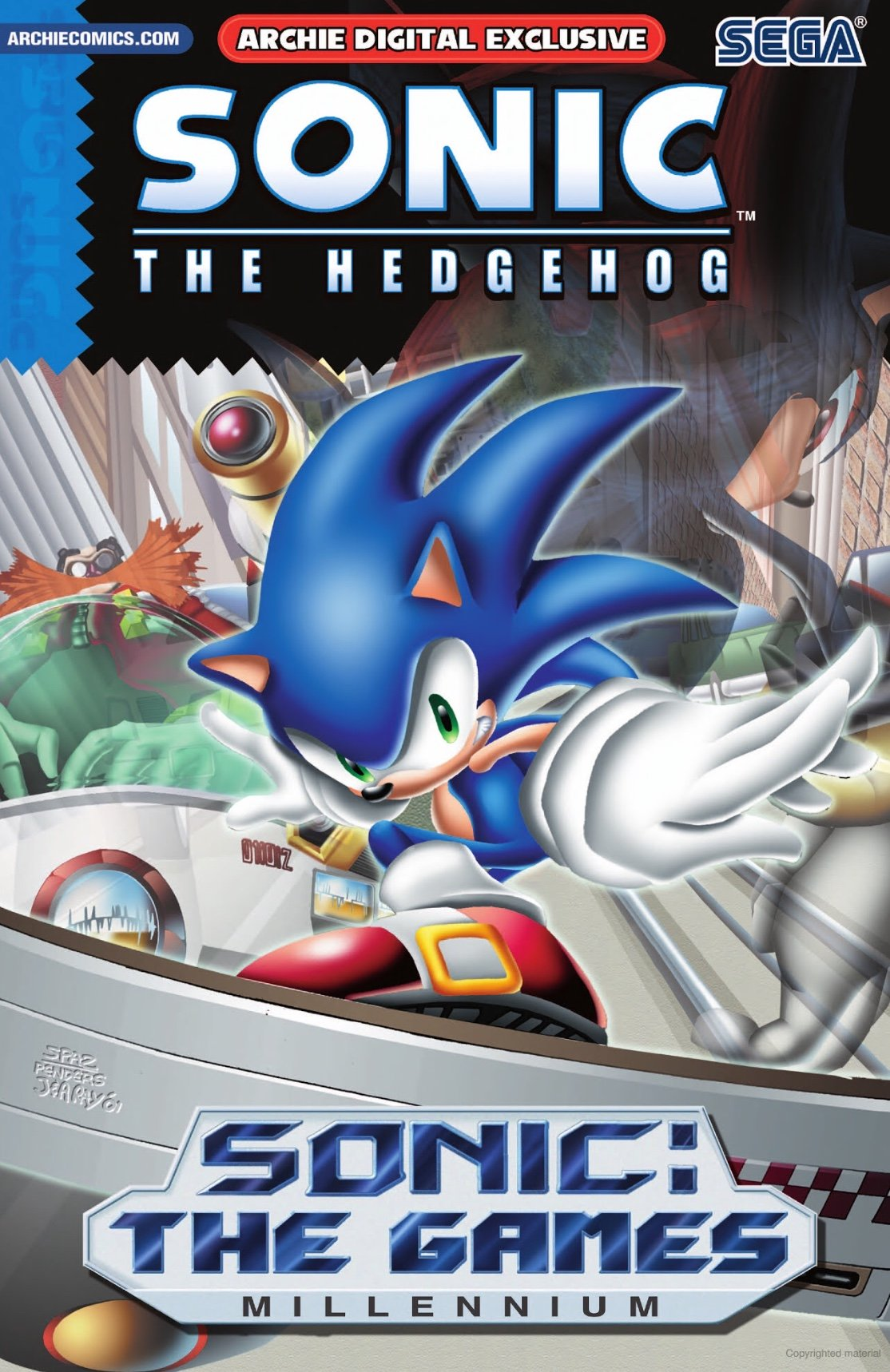 Sonic the Hedgehog - Sonic: The Games - Millennium