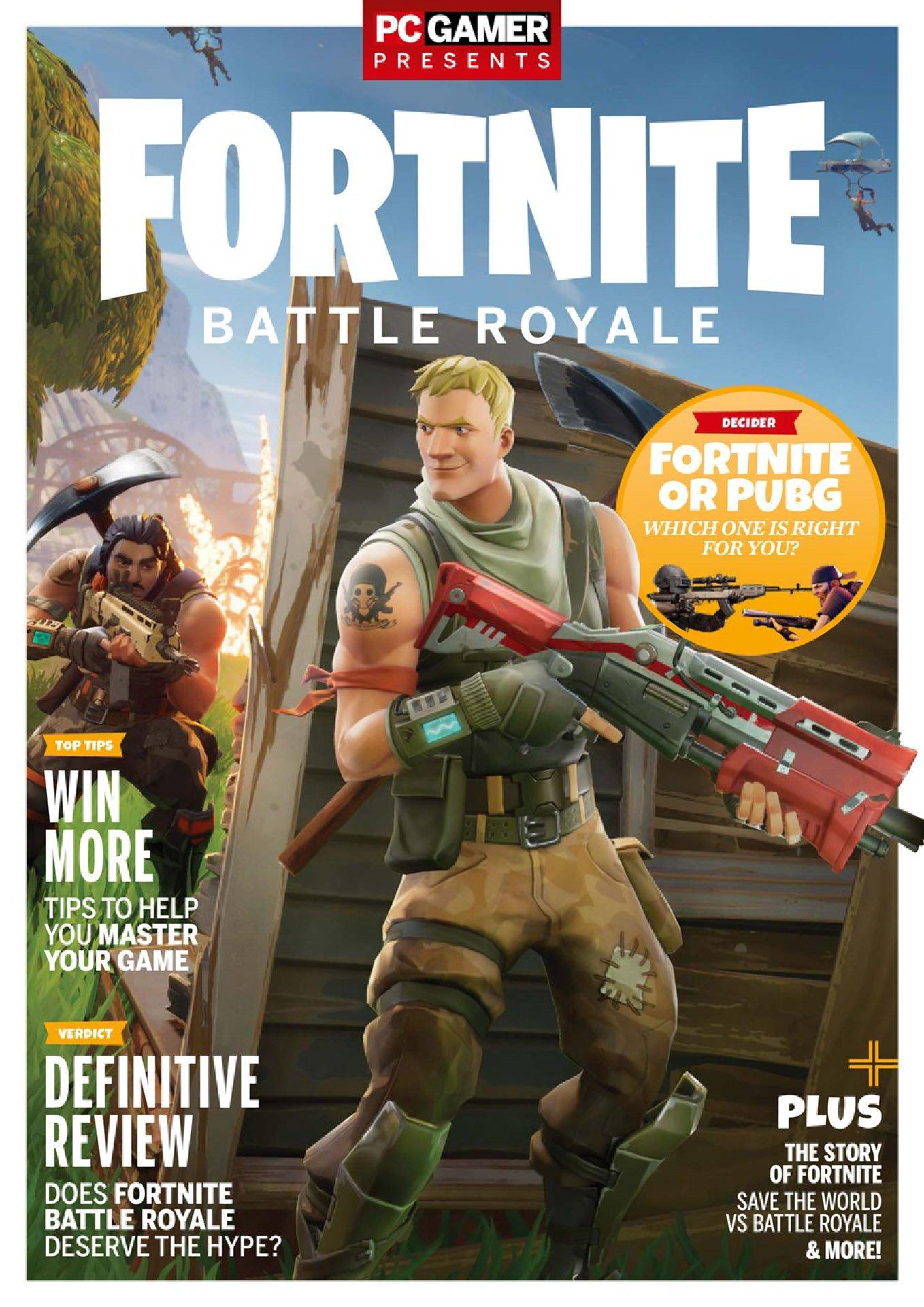 PC Gamer Presents Fortnite Battle Royale