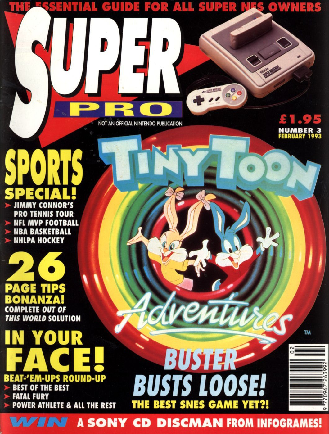 Super Pro Issue 03 (February 1993)