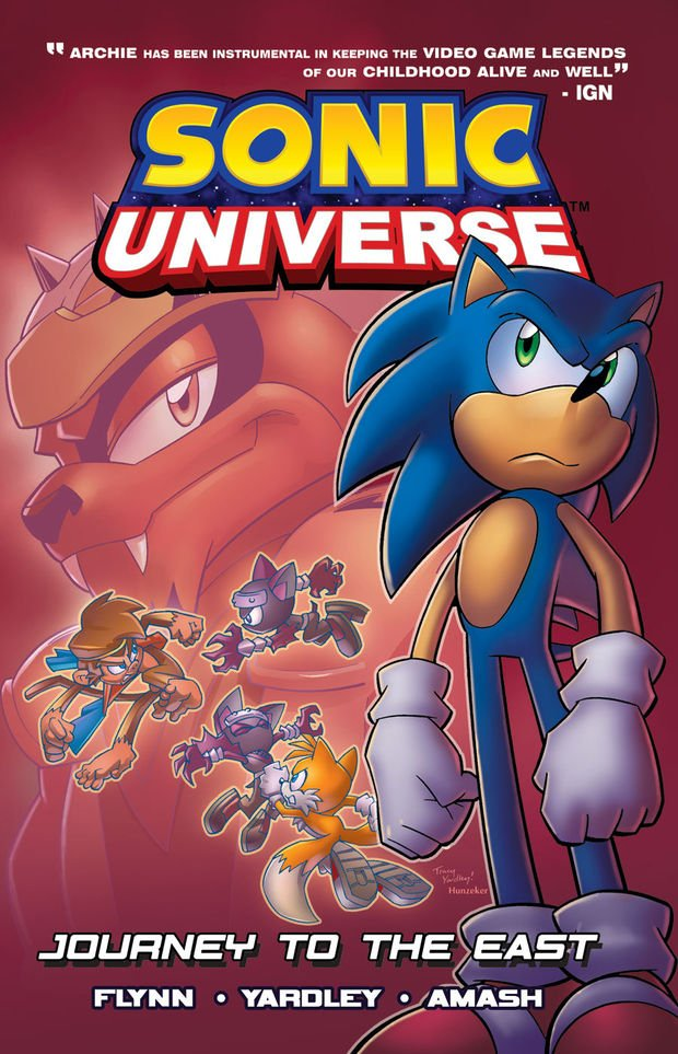 Sonic Universe Vol.4 - Journey To The East