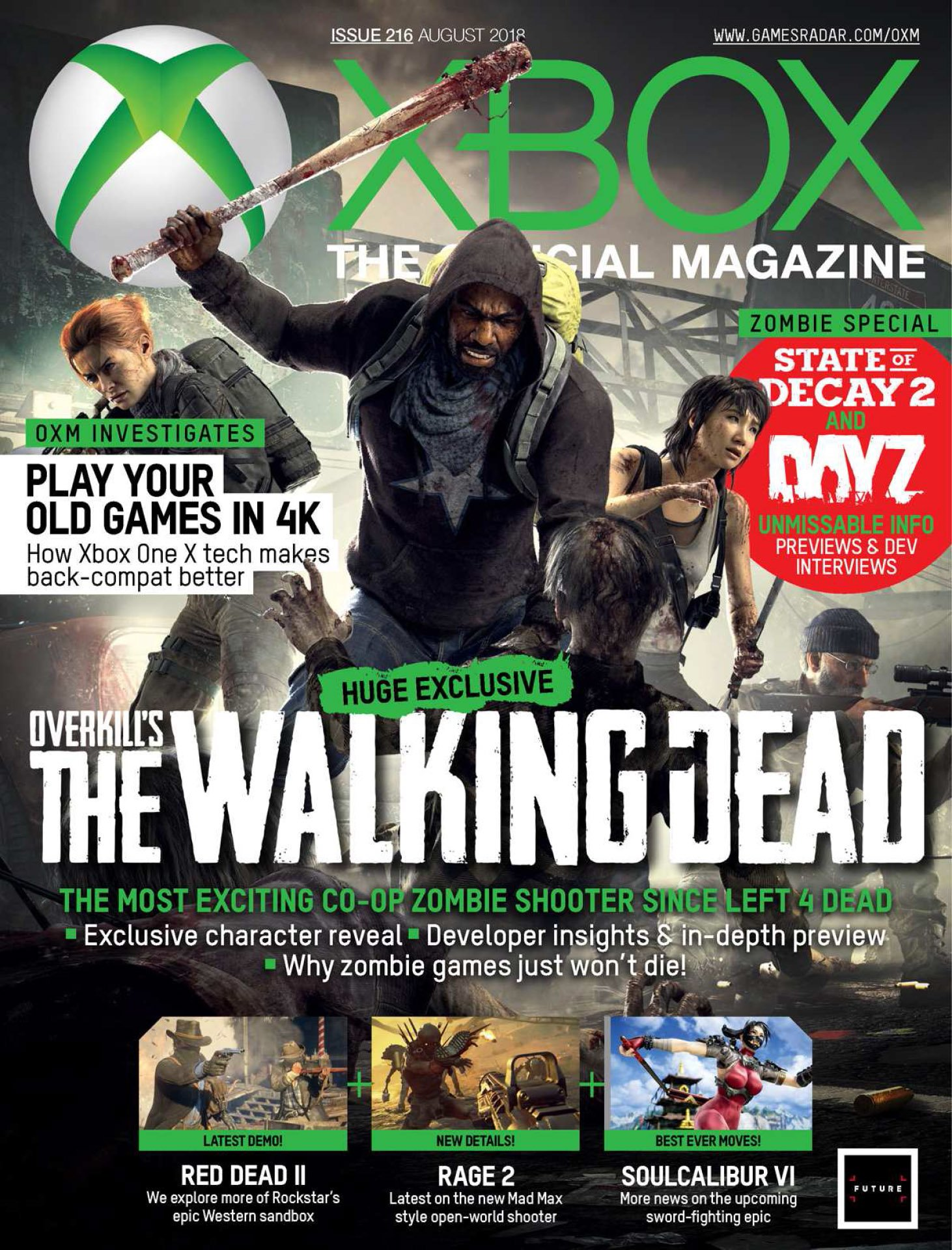 Official Xbox Magazine Issue 216 (August 2018)