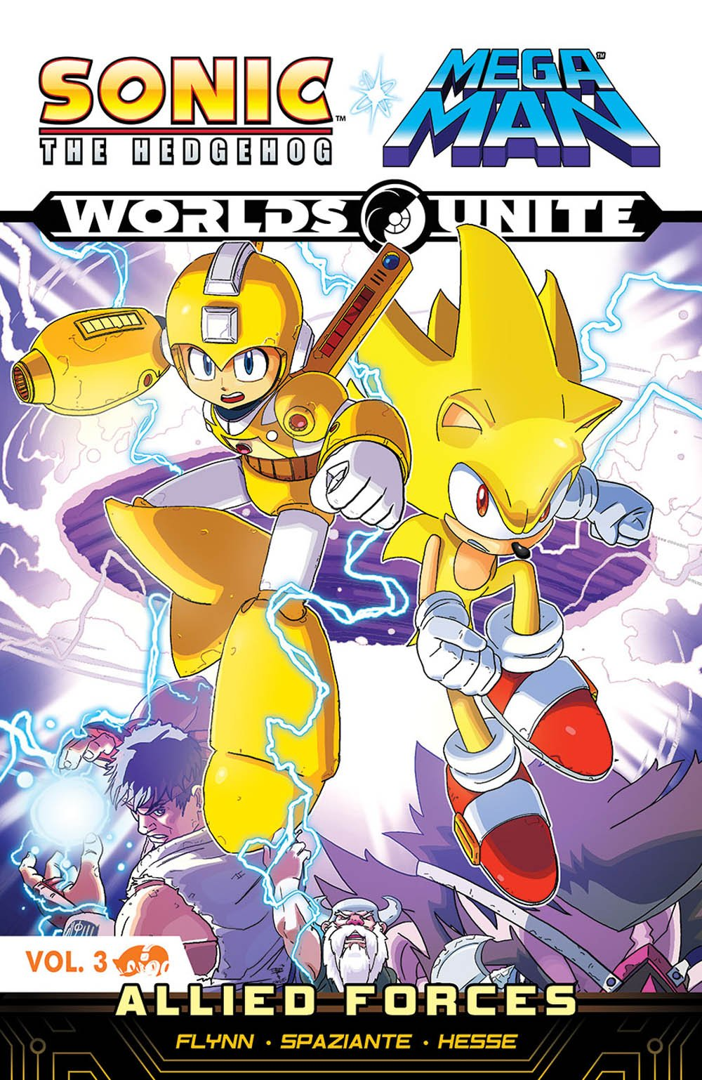 Sonic the Hedgehog / Mega Man: Worlds Unite Vol.3 - Allied Forces