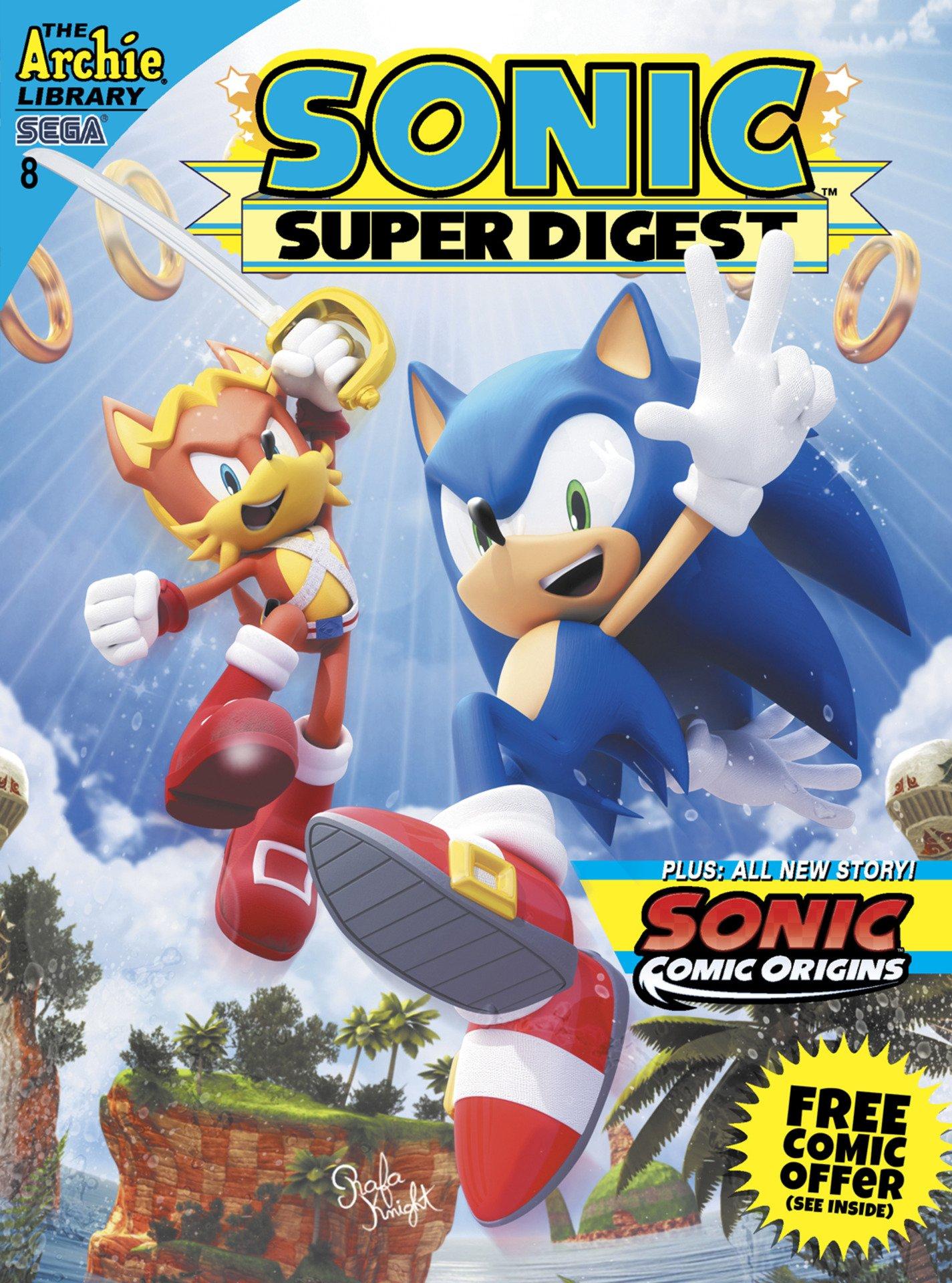 Sonic Super Digest 08