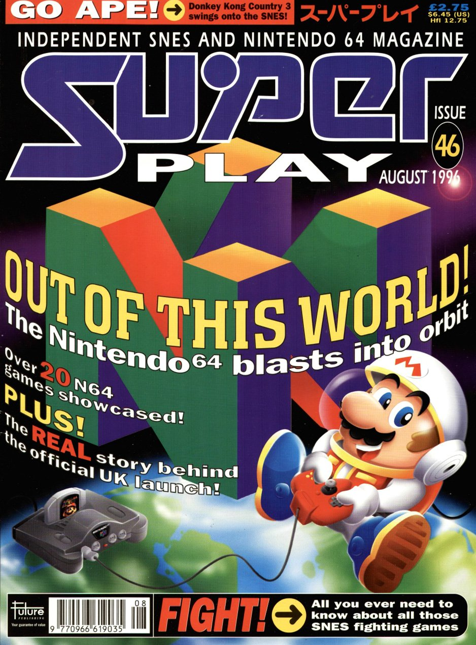 Super Play Issue 46 (August 1996)