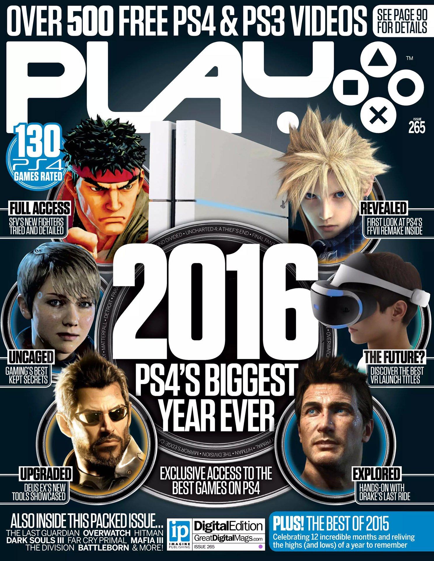 Play UK 265 (January 2016)