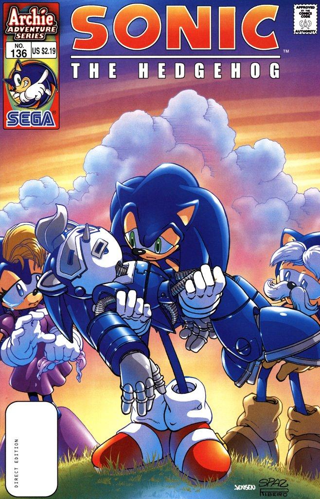 Sonic the Hedgehog 136 (July 2004)