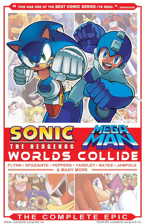 Sonic the Hedgehog / Mega Man: Worlds Collide - The Complete Epic