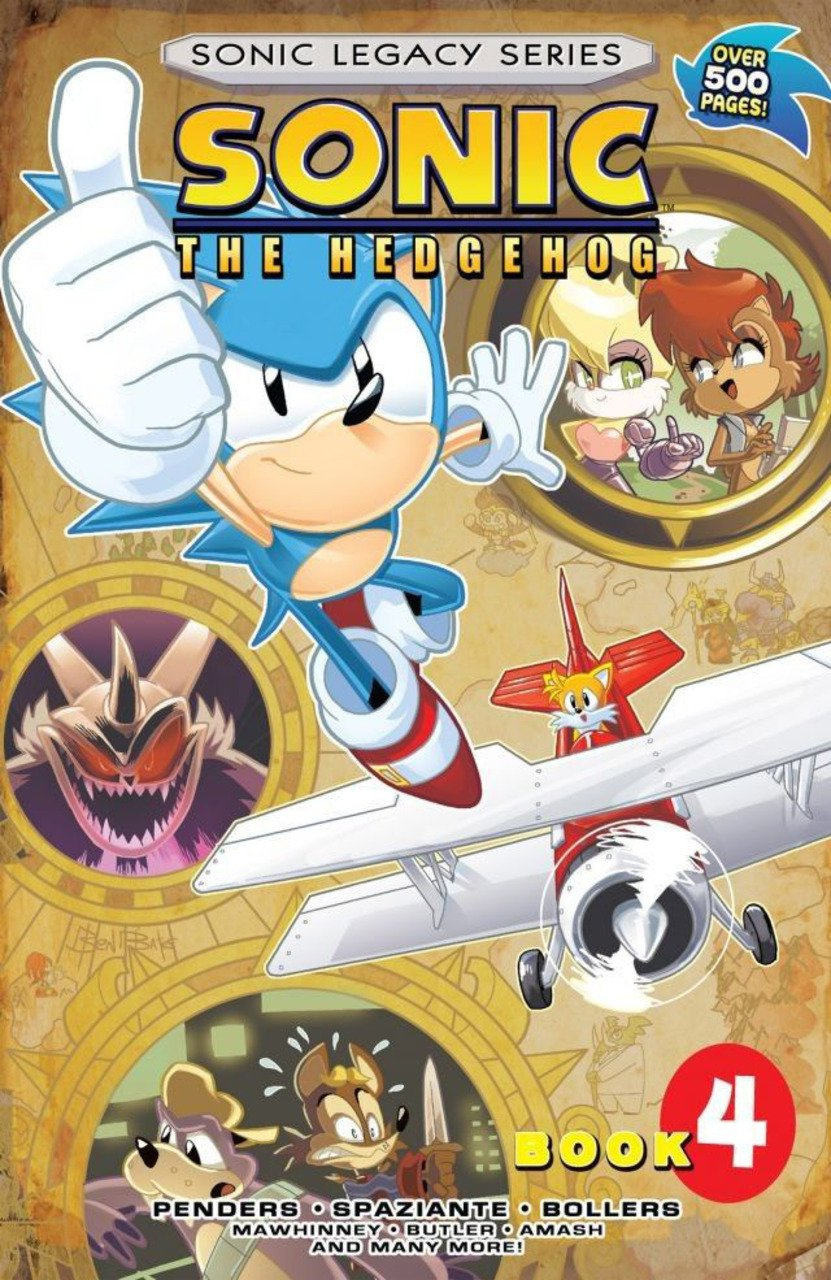 Sonic Legacy Series - Book 4