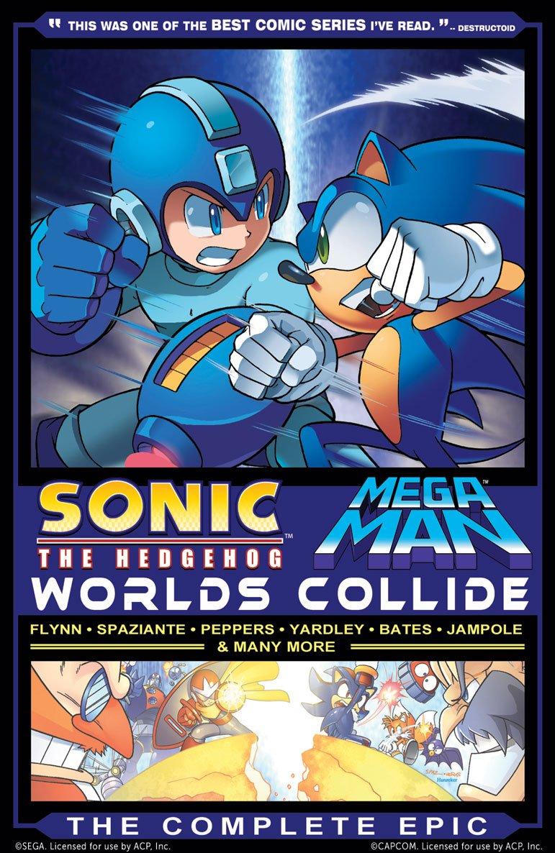Sonic the Hedgehog / Mega Man: Worlds Collide - The Complete Epic (variant cover)