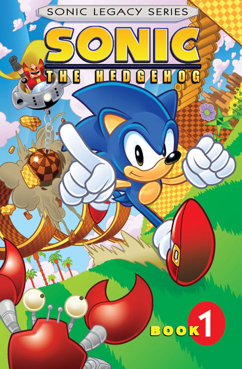 Sonic Legacy Series - Book 1