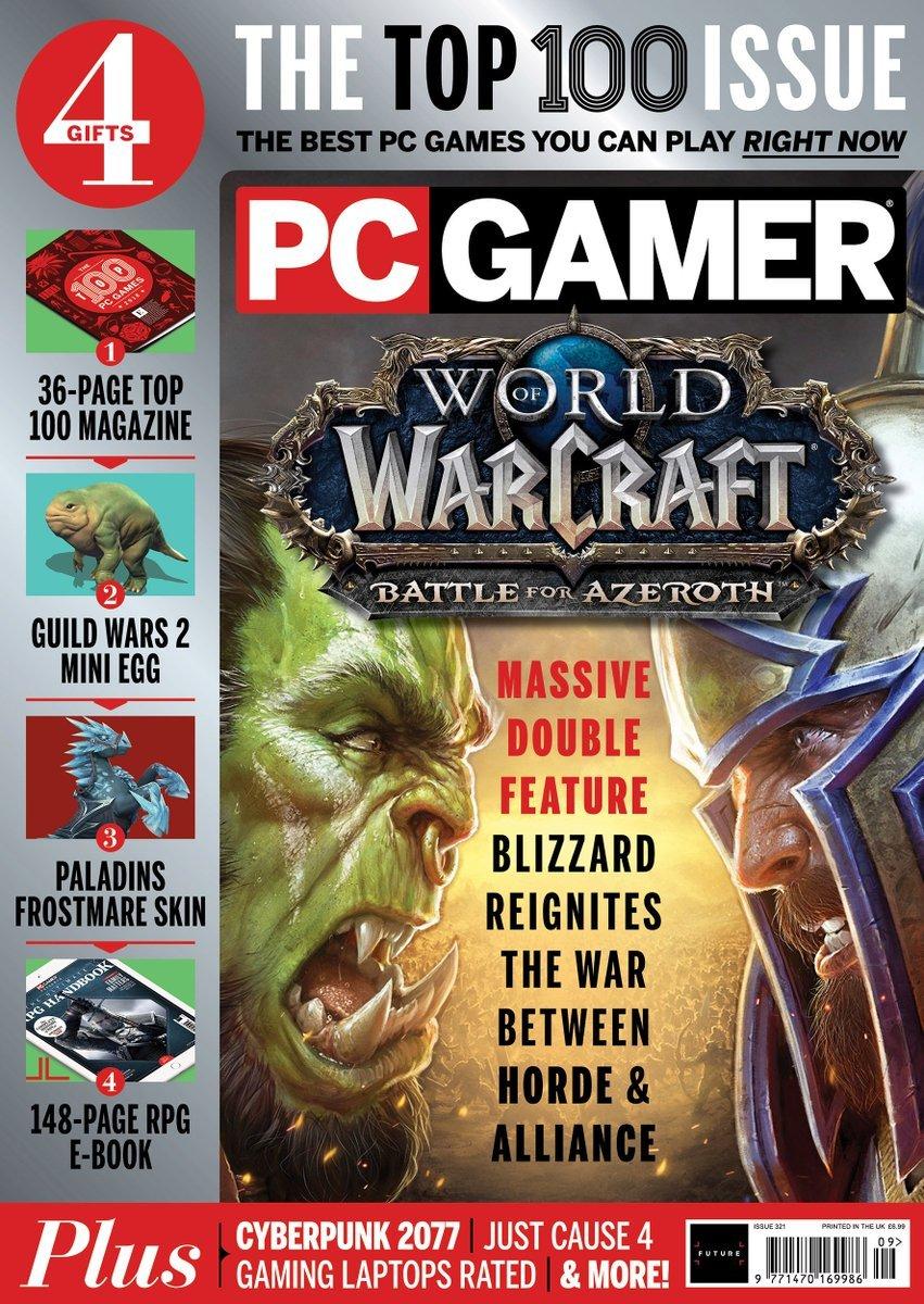 PC Gamer UK 321 (September 2018) (polybag insert)