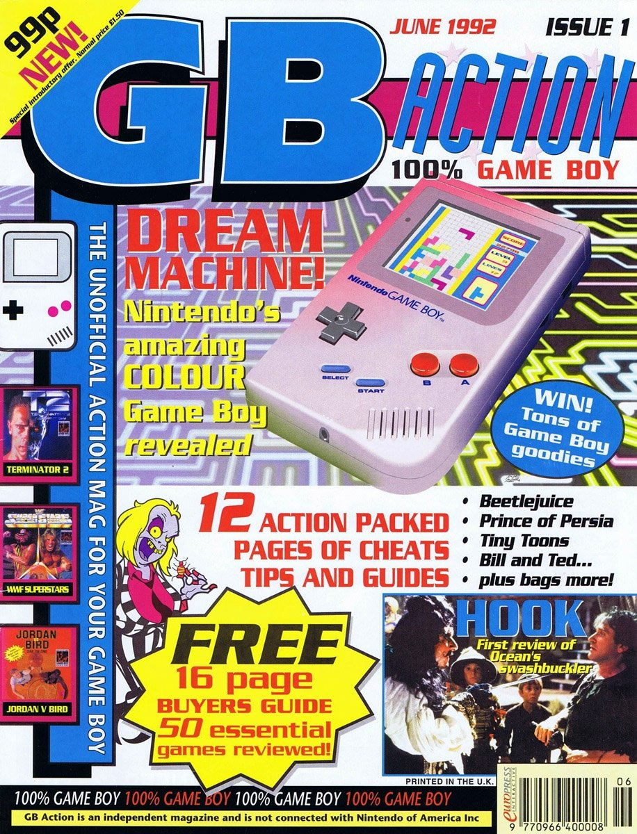 GB Action Issue 01 (June 1992)