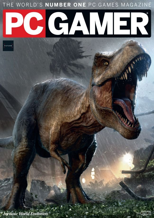 PC Gamer UK 317 (May 2018) (subscriber edition)